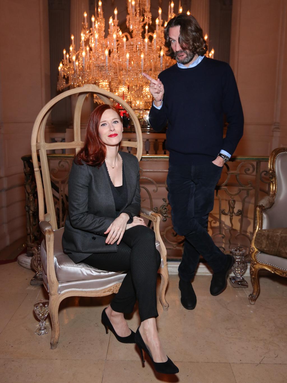 Audrey Fleurot et Fr+®d+®ric Beigbeder -®Fran+ºois Goiz+®