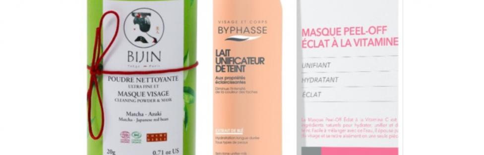 Beauty Alert : 3 produits pour avoir un visage parfait